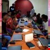 """29 Nigerian """"fraud boys"""" caught by Ghana police in the act"""