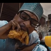 Meet The Comedian That Eat Chicken & Good Food In His Videos