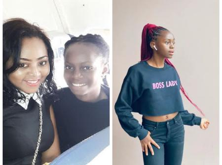 Check Out 15 Pictures Of Regina Daniels' Younger Sister Who Is An Epitome Of Beauty