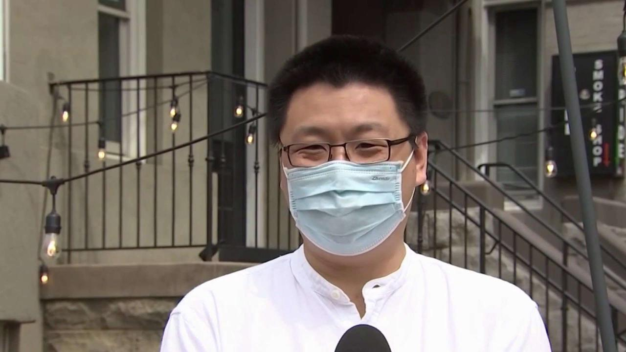 Chinese Tea Shop Owner Shows Resilience After Being Attacked
