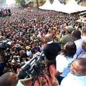 In Pictures: A Mammoth Crowd Attends ODM Rally At Kamukunji Kibra Amidst Raila's Absence