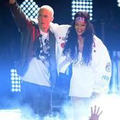 8 Photos of Rihanna with Eminem on stage
