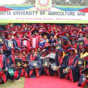 Kenyans Shower Praises To A JKUAT Female Student Who Graduated With First Class Honours (Economics)