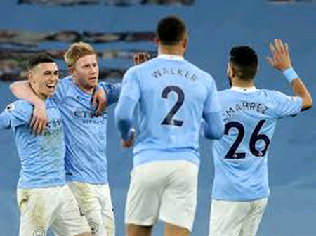 Champions League:Mahrez and De Bruyne To Start In Today's Clash.