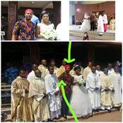 See What This Igbo Man Wore During His White Wedding That Got People Talking Online(Photos)