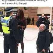 Zimbabwean woman based in UK was allegedly arrested for turning a white man to a pet.