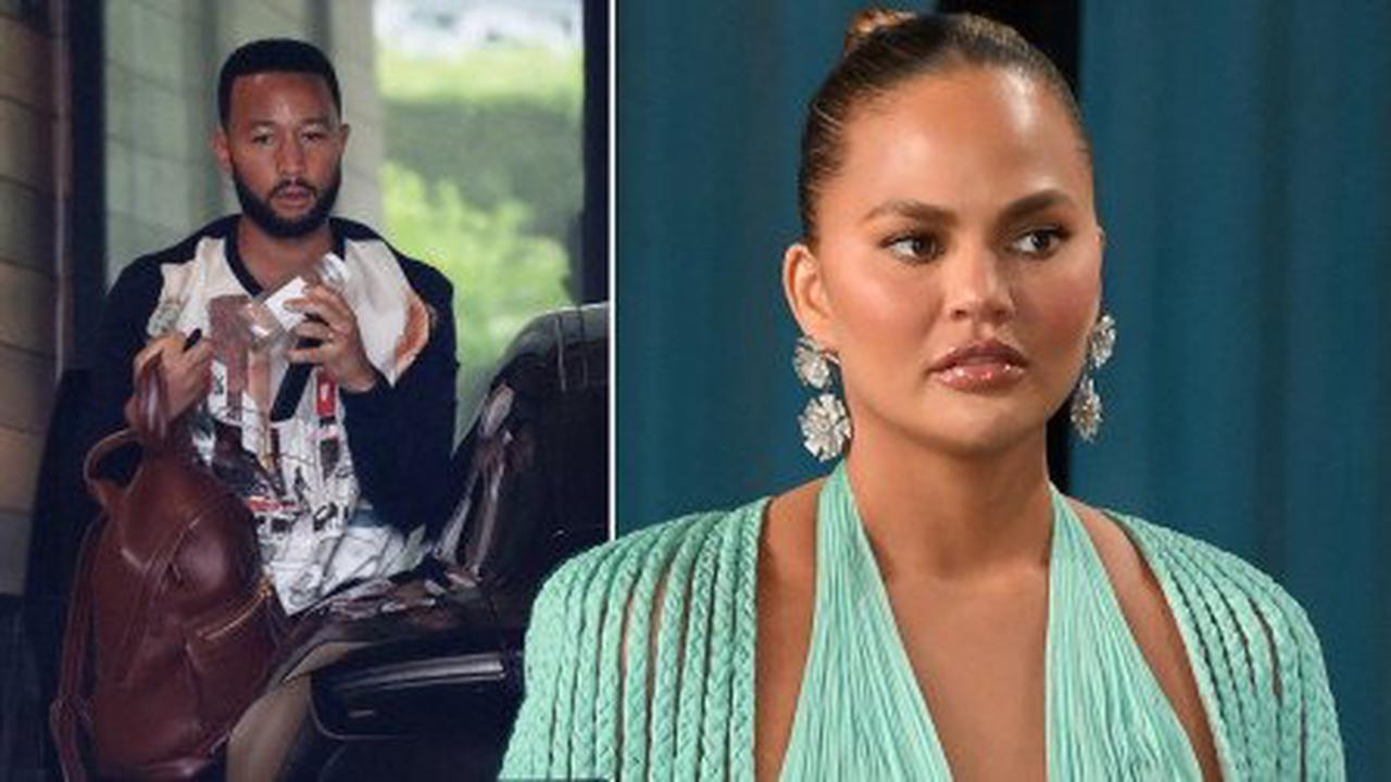 John Legend looks downcast amid wife Chrissy Teigen's controversy