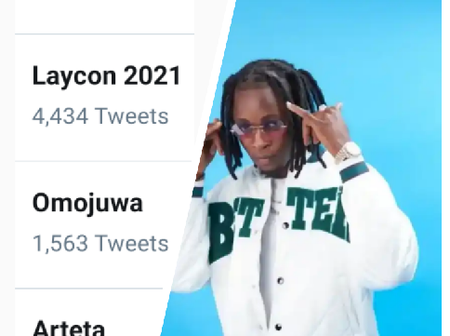 See why Laycon is trending on Twitter