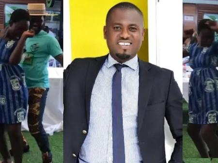 Abeiku Santana in trouble after he was filmed grinding the backside of an underaged  student