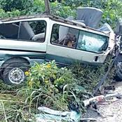 Three cars that crashed at Kunar Dumawa in Dambatta Local Government Area of Kano State