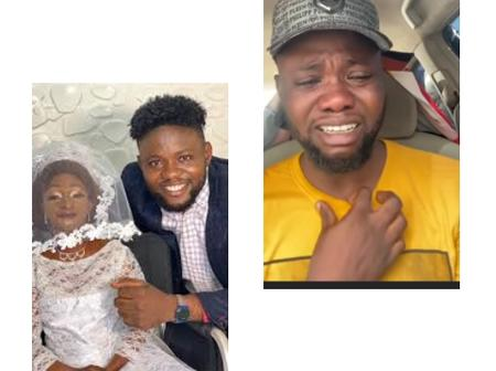 Who Could Have Stolen The Concept Of Jamiu Azeez As The Actor Burst Into Tears In A Video? (Video)