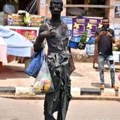 See What A Student Dressed Like In His Institution's Rag Day, See His Institution