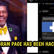 Kanayo O Kanayo Instagram account has been hacked