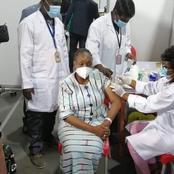 Santé-vaccination contre le Covid 19: la ministre Raymonde Goudou Coffie se fait vacciner