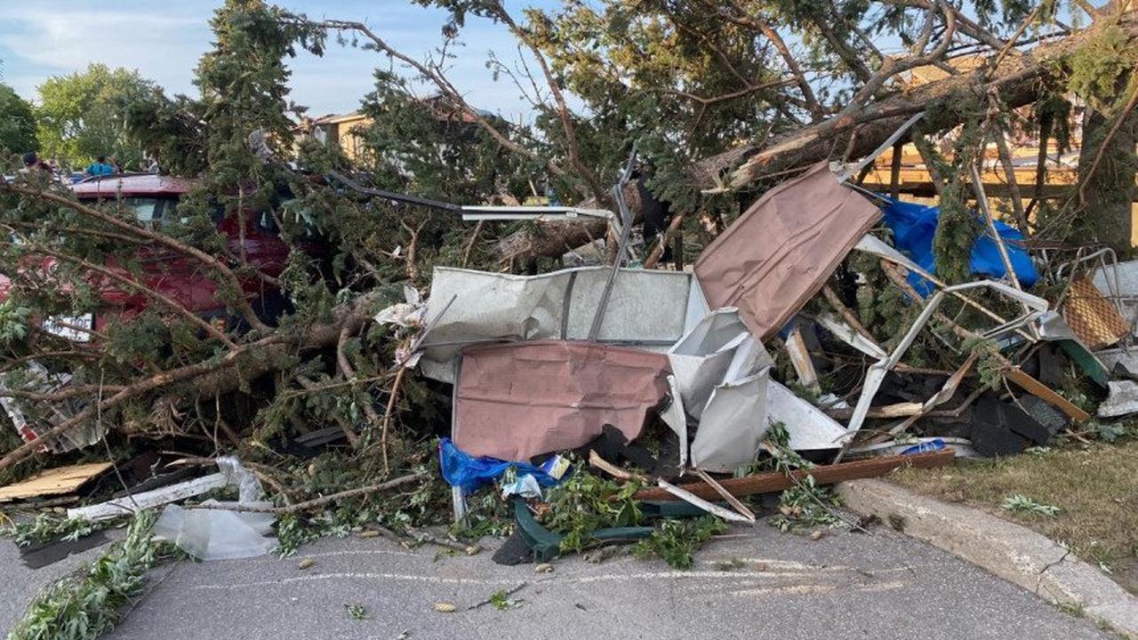 Une tornade frappe Mascouche, un décès