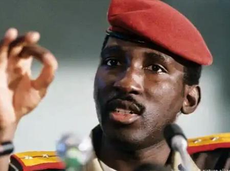 History: 4 Yrs In Power, Thomas Sankara Built 350 Schools, Reduced His Salary To $450, Died At 38