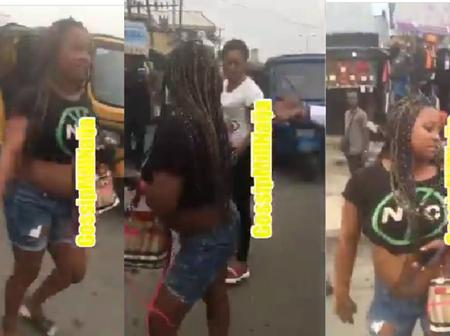 Video: Lady Was Publicly Humiliated In The Market By A Pastor For Exposing Her Body