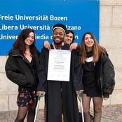Throwback: The Proud Moment When Edgar Obare Graduated With Masters in Computer Science