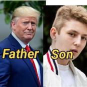 Meet 14 Years O Last Son Of Ex-President Donald Trump Who Has A Striking Resemblance With His Father