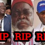 Bruno Iwuaho And Other 3 Nollywood Actors That Died Within The Last 5 Months (PHOTOS)