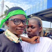 'All the Shot I've Been Shooting Didn't Hit Target'-Man Reacts as a Lady Shows Her Protest Boyfriend