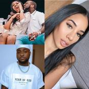 Davido Comes Back Online To Follow A Beautiful Lady And It's Not Chioma. See Photos Of The Woman.