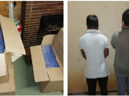 Two Pakistan Guys Who Have Been Dealing with Illicit Cigarettes Have Been Arrested