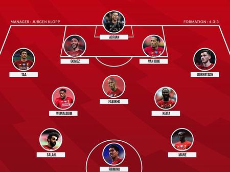Opinion: With This Lineup, Liverpool Will Destroy Sheffield Defense And Score More Goal On Saturday!