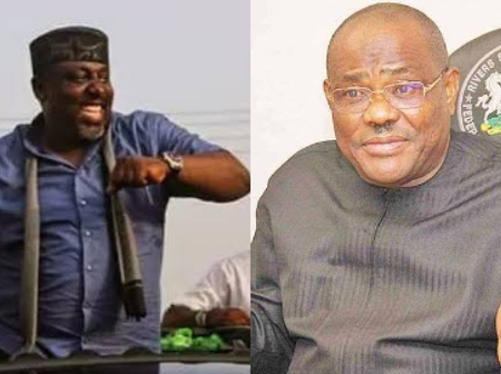 Rochas Okorocha And Governor Wike Caught On A Video Dancing