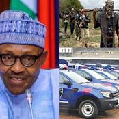 Buhari Finally speaks about rewarding the bandits with money and vehicles