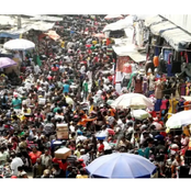 Check out The busiest and biggest market in africa