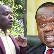Sonko Was To Record A Statement As A Witness Against CS Matiang'i, Before His Arrest: Itumbi Alleges