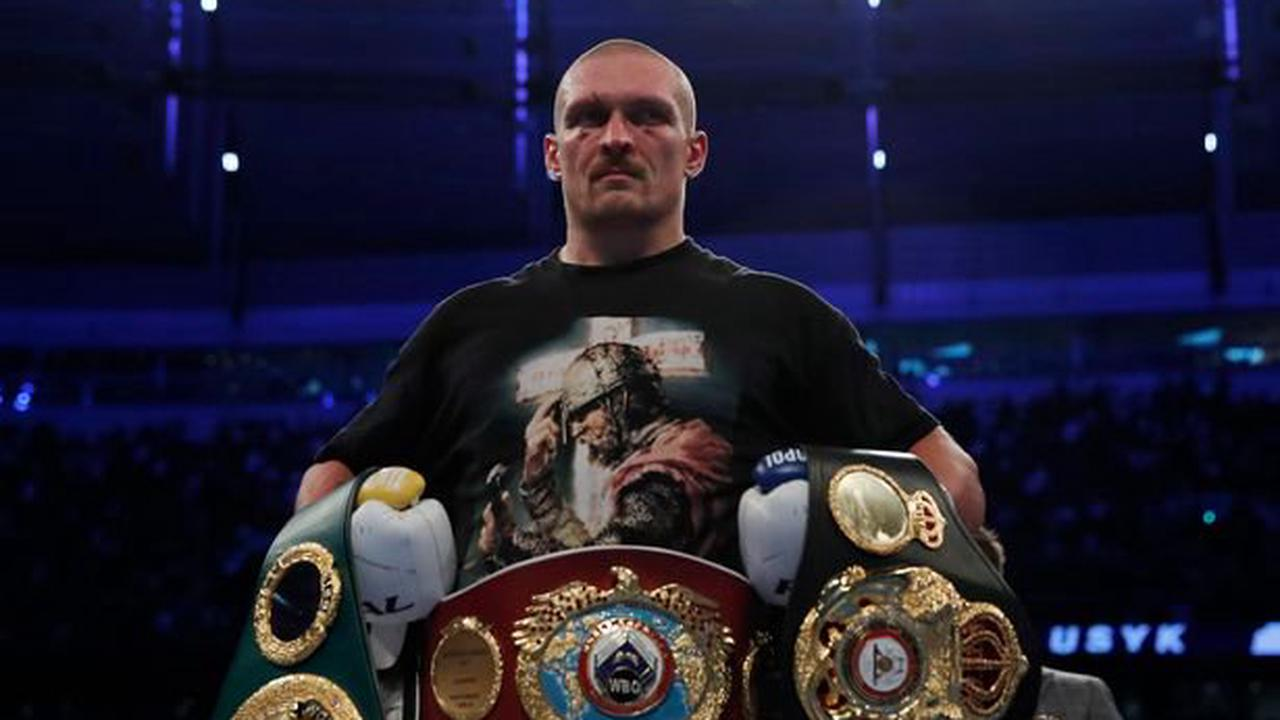 """Oleksandr Usyk brands Anthony Joshua """"nothing special"""" after dramatic points win"""