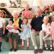 The Royal Family Released Rare Photos Of Prince Philip, Queen Elizabeth & Great-grandchildren