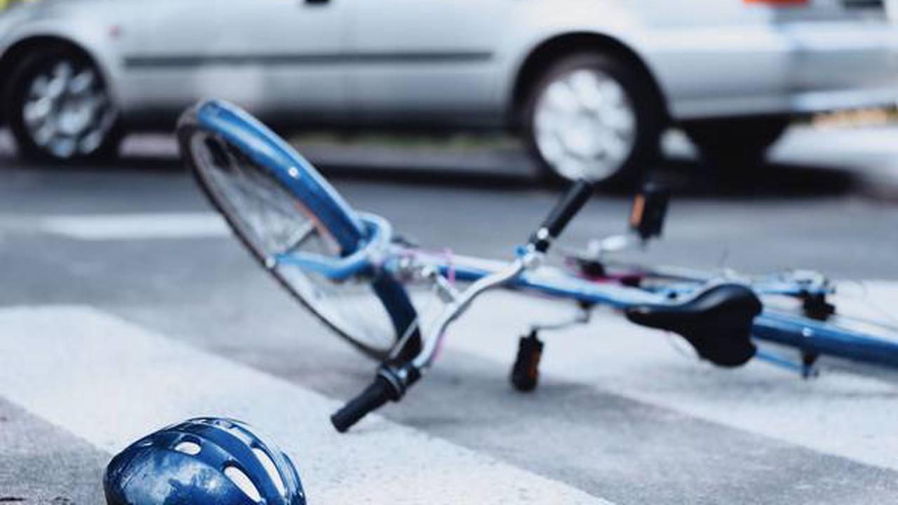 Gries, Bez. Graz: Unfall mit Radfahrer