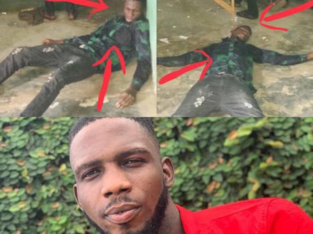 Remember The Man That Fainted After Losing Loan In A Betting Shop? Checkout His Recent Pictures