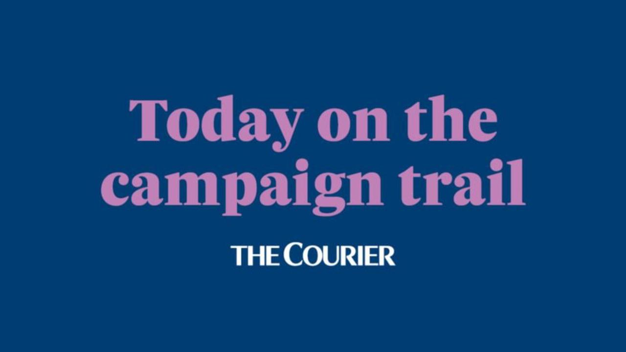 Courier Scottish Election 2021: Here's what happened on the campaign trail on April 12 -