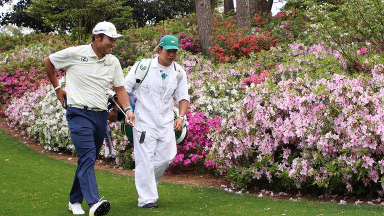 Hideki Matsuyama marches towards Masters glory