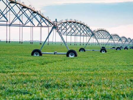 Check Out The Modern Technology Farmers In The US Use To Irrigate Crops (Photos)