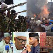 Today Headlines: Boko Haram Takes Over Dikwa, Yahaya Sacks Three Commissioners, Reassigns Six