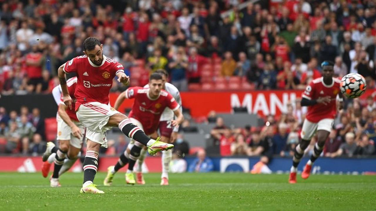 Bruno Fernandes cruelly mocked on MOTD 2 after Man United penalty miss