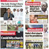 Newspapers Headlines Review For April 15