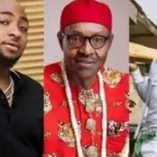 """You're A Legend"". - As Davido praised Small Doctor, after reading what he said to President Buhari."