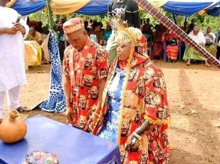 Beautiful wedding pictures from Igbo Muslim couples