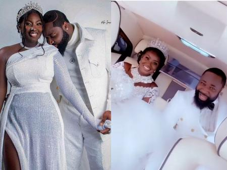 Popular Nigerian Musician, Harrysong Weds His Beautiful Bride Today. See Photos From Their Wedding