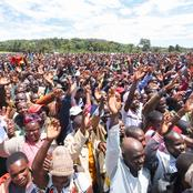 Dp Ruto Brings Meru to a Standstill as Residents Jubilantly Welcomes Him(Video)