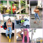 Watch Bizizi With Her Stuning pictures And Her car