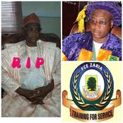 END OF CONTROVERSIES: FCE Zaria's Immediate Past Provost Died, His Deputy To Assume Office.