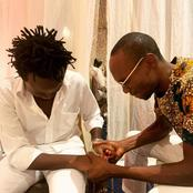 Dr Ofweneke's Photo praying for Bahati after his miseries with wife sparks reactions