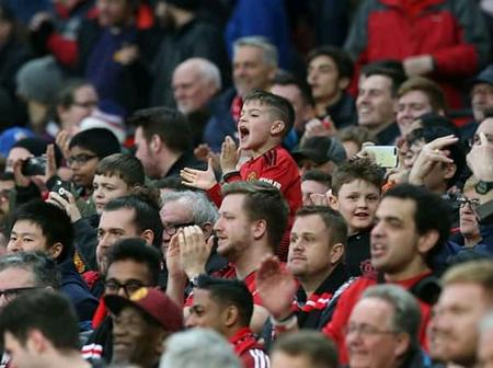 Good News; Man United To Be First Club To Allow Thousands Of Fans in Old Trafford After This Period